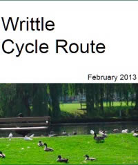 writtle cycle map