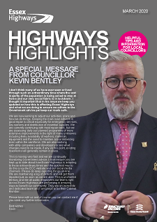 Front cover of the March edition of the Highway Highlights