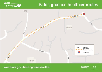Safer, Greener, Healther Braintree map