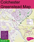Greenstead Cycle Map
