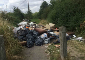 Report fly tipping