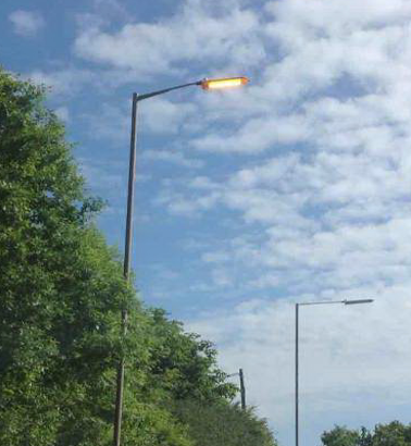 Report street light problem
