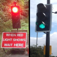 Report traffic lights